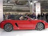 Первый Porsche Boxster собранный в Оснабрюке. Фото Porsche