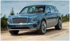 Bentley EXP 9 F Concept. Фото Bentley